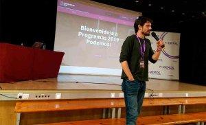 Jorge Ramiro, ponente en encuentro autonómico de Podemos