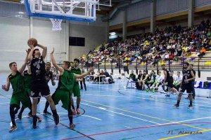 Emoción sin victoria para el CSB Soria Ciudad Europea del Deporte
