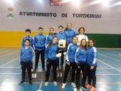 Cuatro medallas del Club Bádminton Soria en Tordesillas