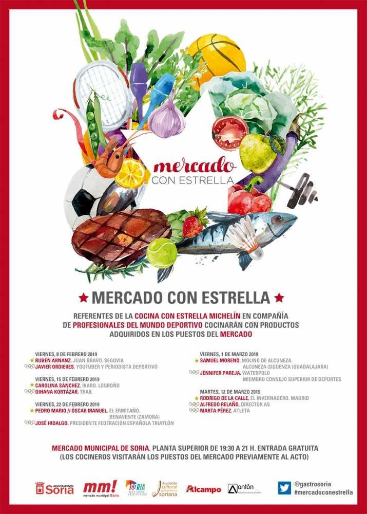 """""""Mercado con Estrella"""" marida deporte y cocina"""