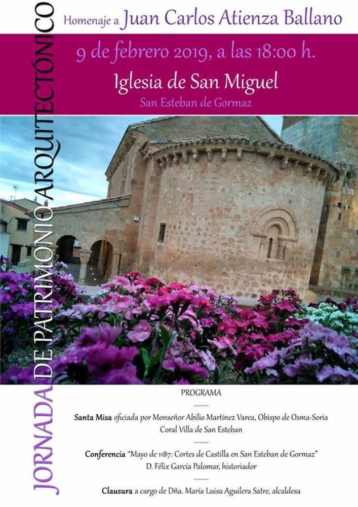 San Esteban de Gormaz recuerda a Juan Carlos Atienza