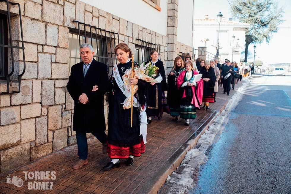 Las mujeres toman el mando en las Aguedas en San Leonardo