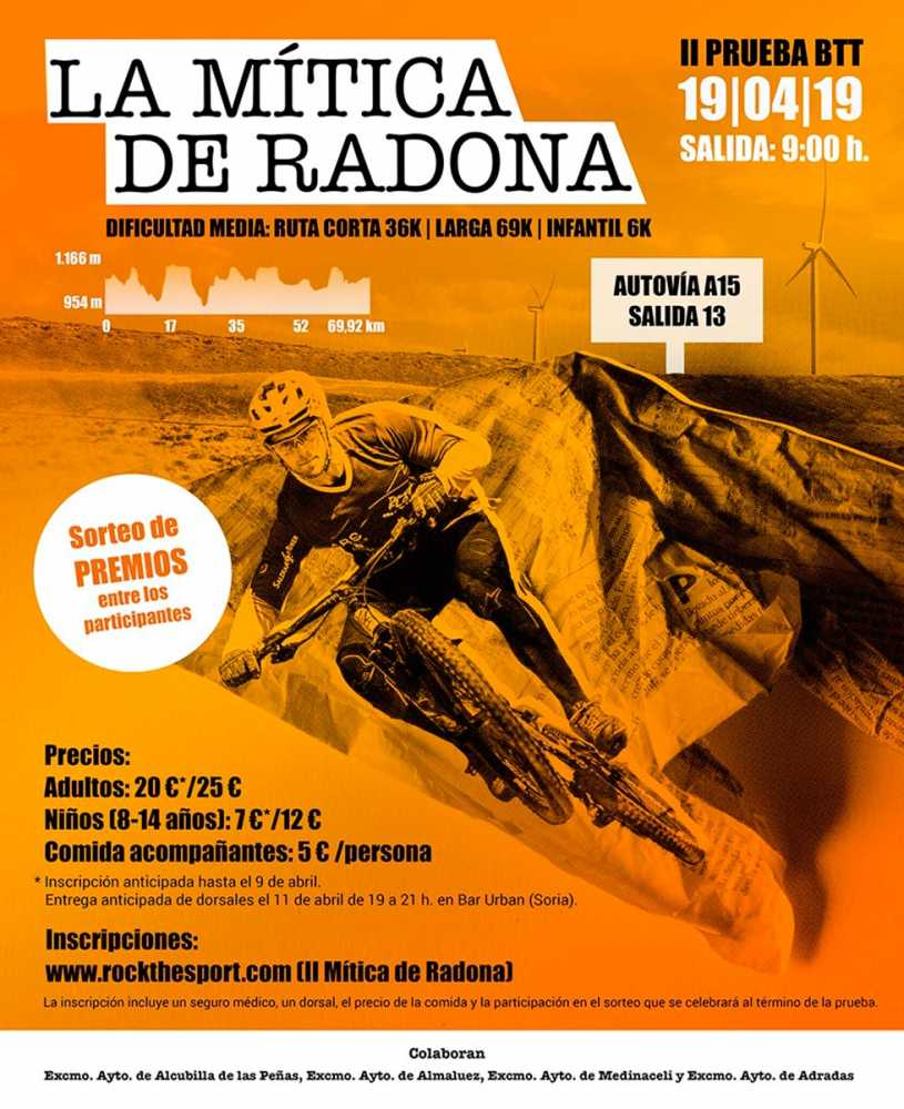 La II Mítica de Radona abre inscripciones