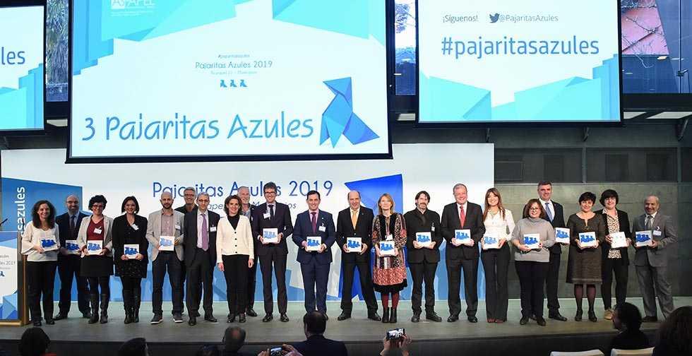 Soria, reconocida con tres Pajaritas Azules