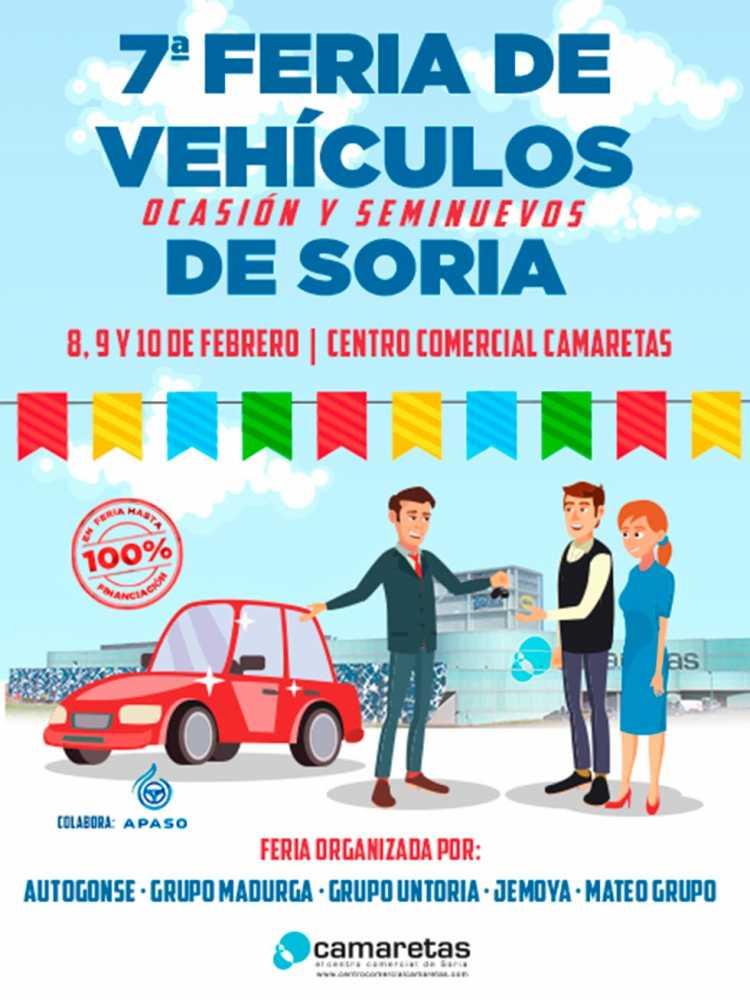 Cita en Camaretas con la VII Fería de Vehículos de ocasión