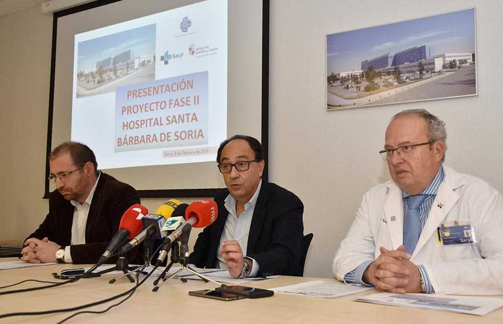 La Junta explica el cronograma de las obras del hospital Santa Bárbara