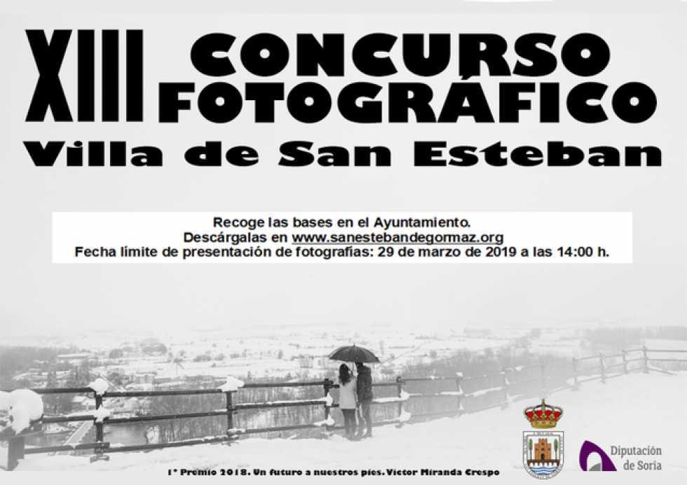 """Convocado el XIII concurso fotográfico """"Villa de San Esteban"""""""