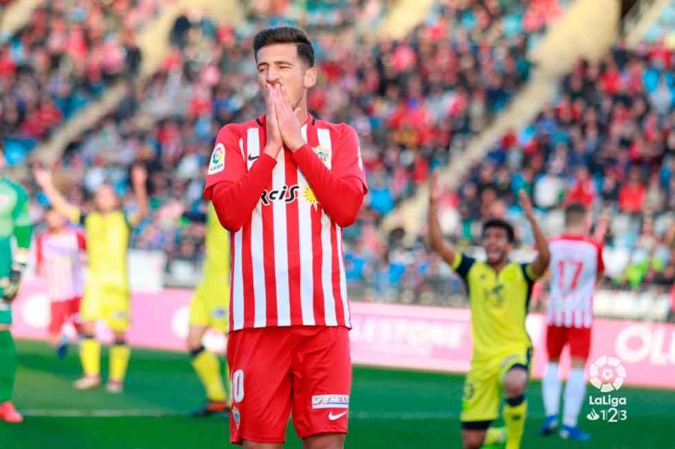 El Numancia regresa de vacío de Almería