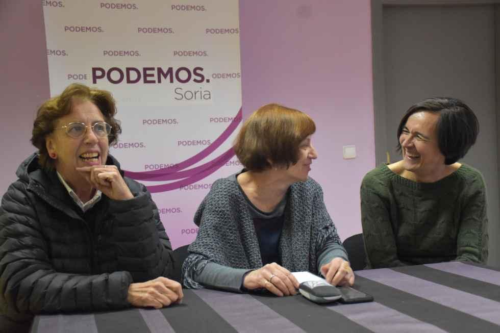 Marisa Muñoz encabeza candidatura de Podemos