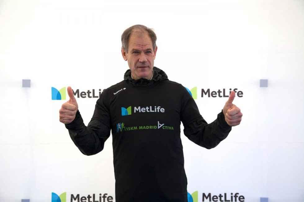 Antón presenta la 15 Km MetLife Madrid Activa