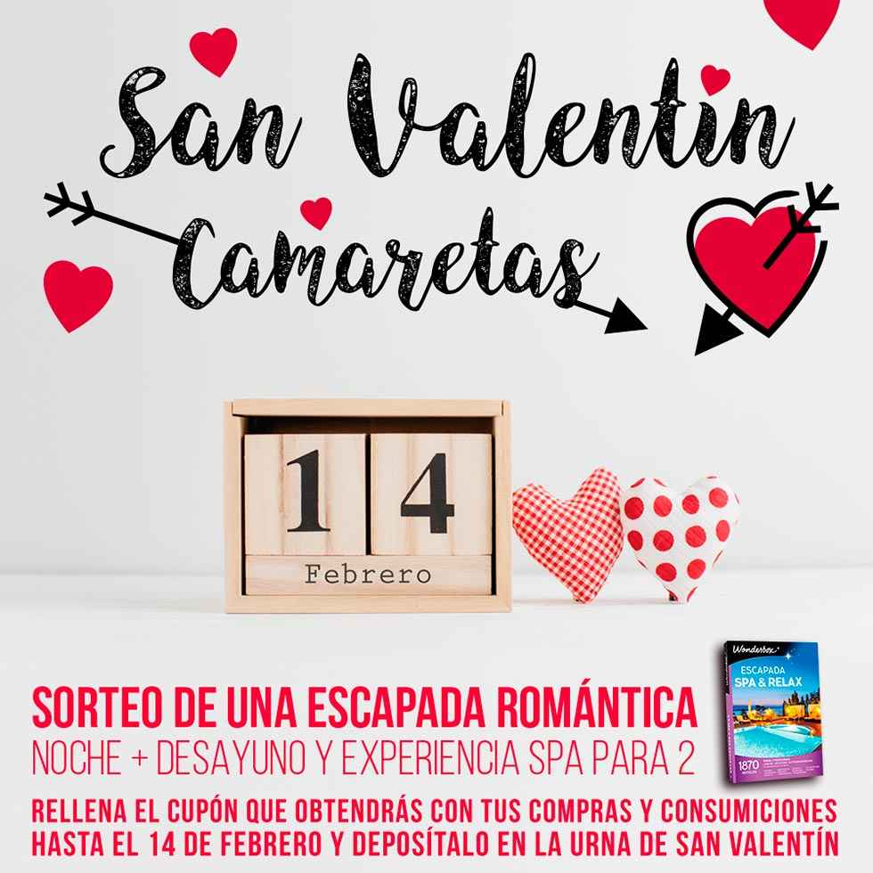 Camaretas se adelanta  a San Valentín
