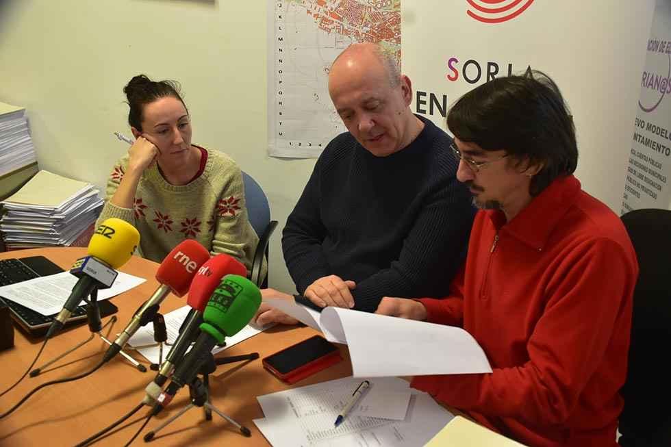 Soria en Común denuncia el amiguismo que impera en el Ayuntamiento