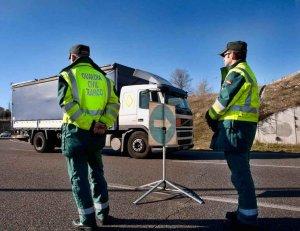 La DGT intensifica el control de camiones, autobuses y furgonetas