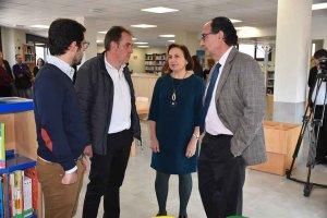 Inauguración de biblioteca y centro joven de Camaretas - fotos