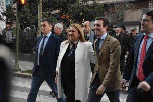 Pablo Casado se reúne con el PP de Soria - fotos