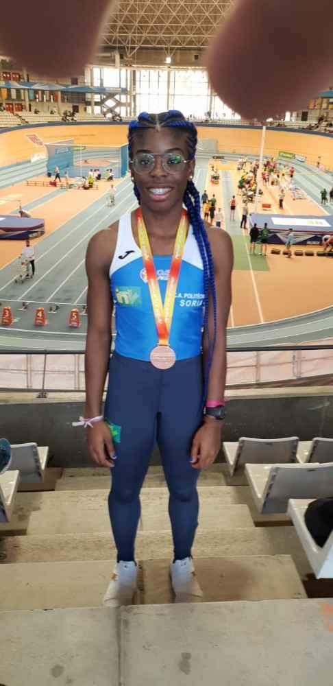 Ashley Abaga, bronce en el Nacional sub-18 de Valencia