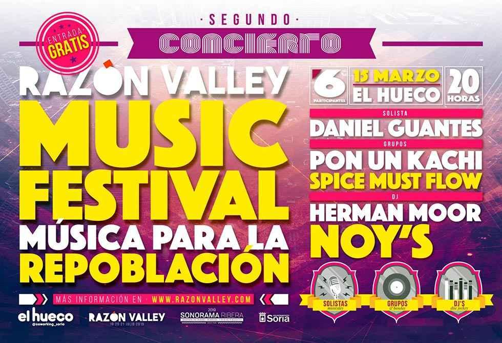 Segundo concierto de Razón Valley Festival