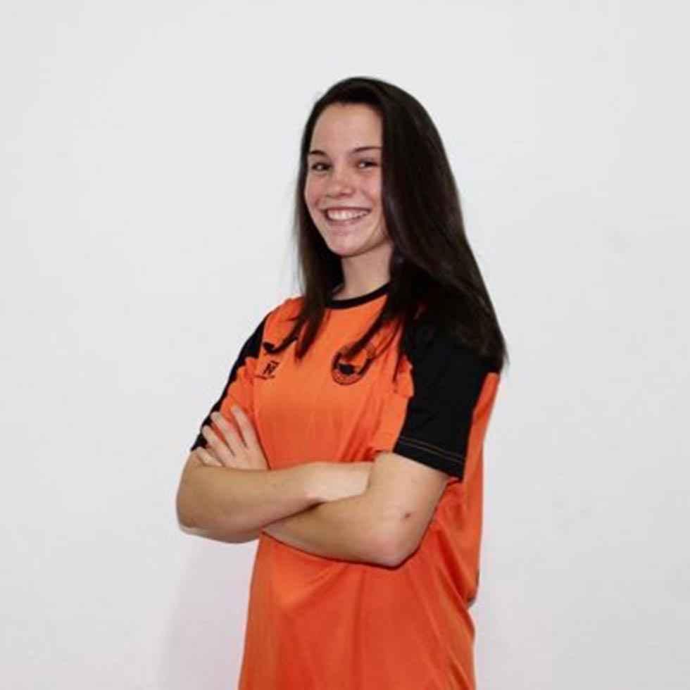 Marta Charle, la primera soriana en el fútbol profesional