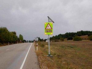 La DGT instala un cruce inteligente en acceso a Berlanga