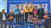 Alberdi y Rodríguez, campeones de Duatlón MD en Numancia