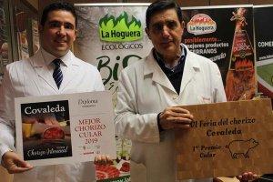 """Embutidos La Hoguera recoge el premio """"El Mejor Chorizo"""" cular"""