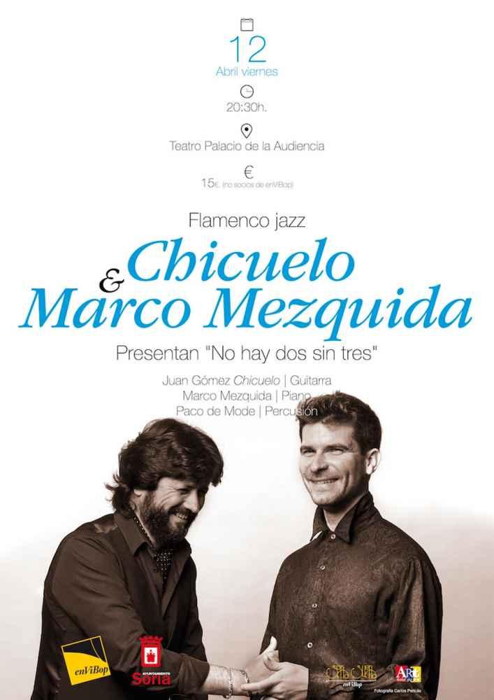 Jazz-flamenco con Chicuelo-Marco Mezquida