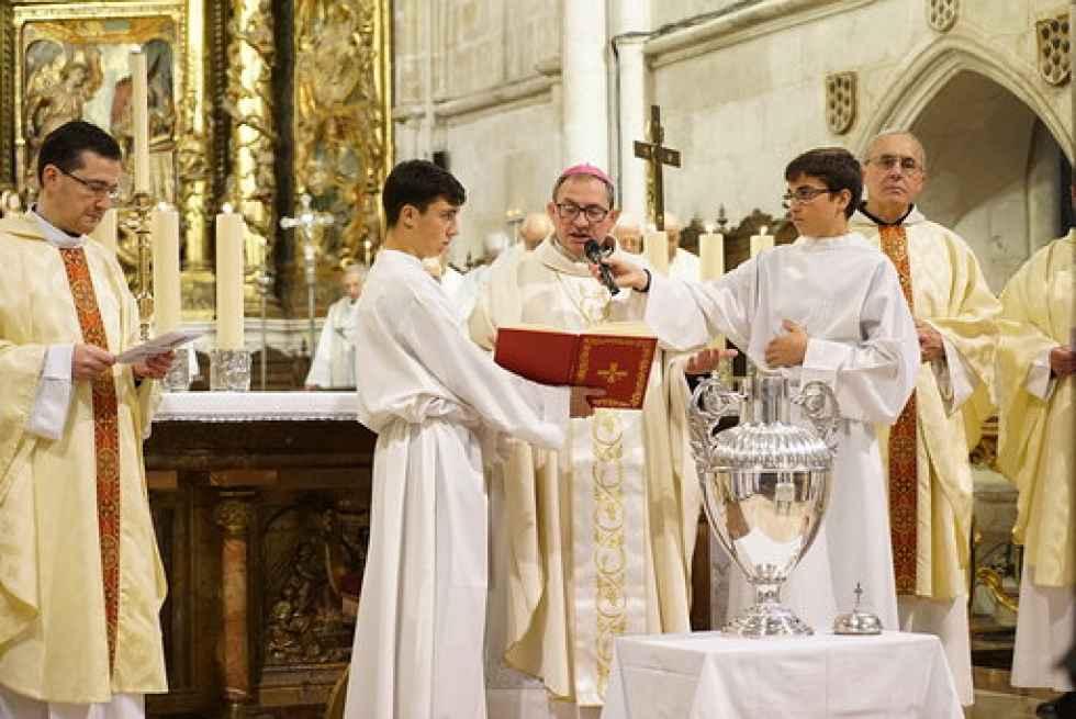 Santa Misa Crismal en la catedral