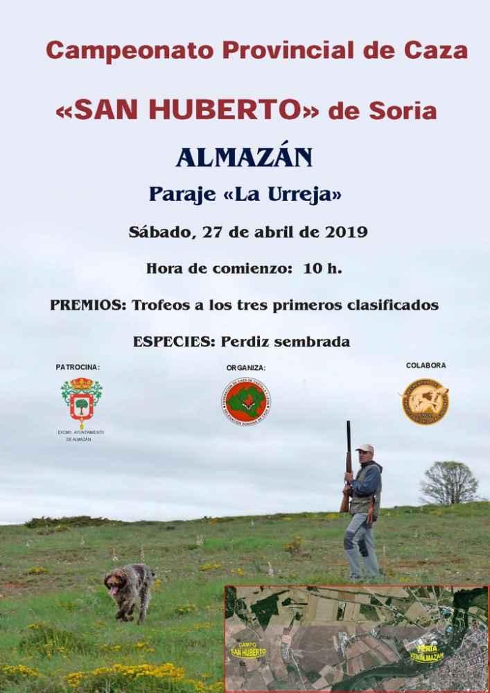 Campeonato provincial San Huberto, en Almazán