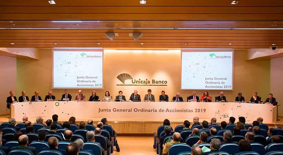 Unicaja Banco aprueba las cuentas de 2018, con integración EspañaDuero