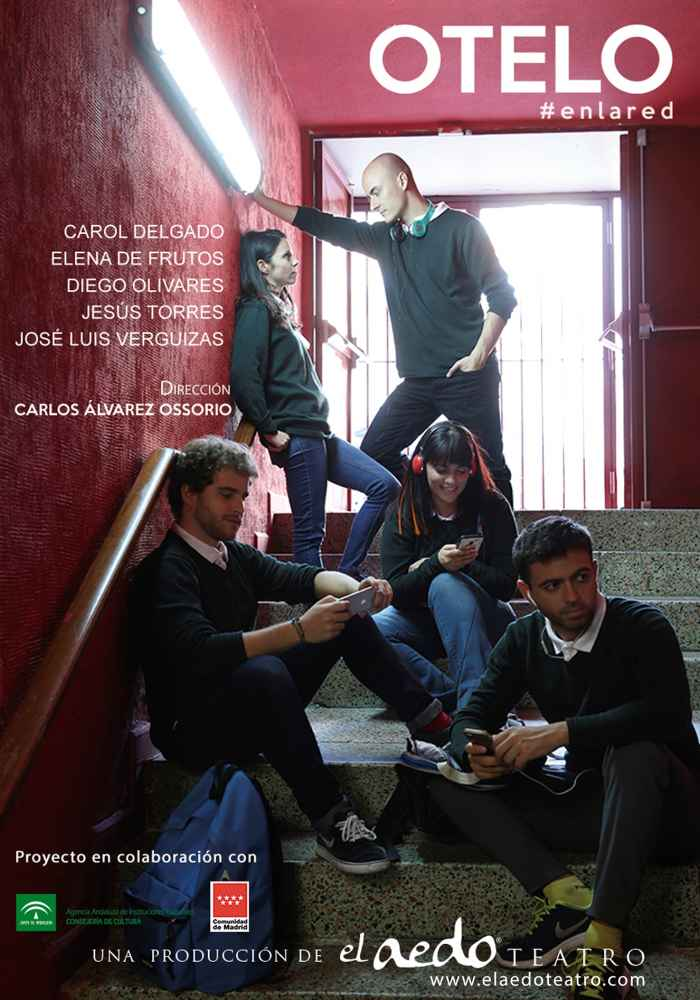 Otelo#enlared, teatro en Almazán