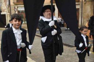 Los felipecuartos procesionan en Ágreda - fotos
