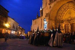 El Burgo de Osma: procesión del Santo Entierro - fotos