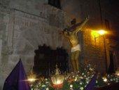 Veintiún pasos procesionan en el Santo Entierro en El Burgo