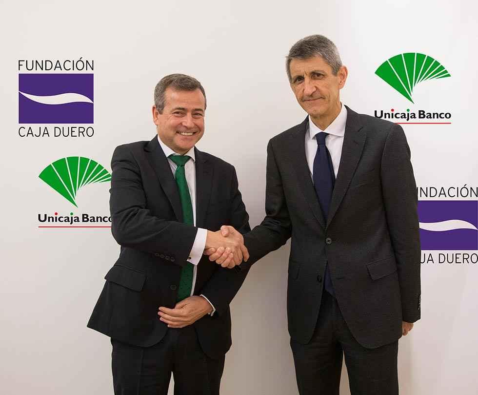 Unicaja Banco renueva su convenio con la Fundación Caja Duero