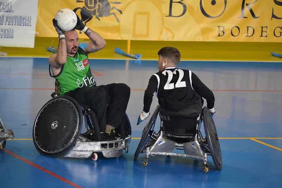 Cinco selecciones de rugby en silla de ruedas, en Ólvega