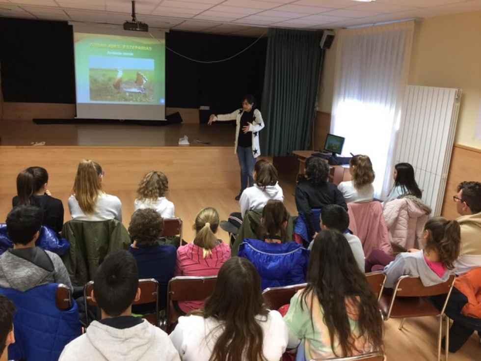 Doscientos escolares conocen el proyecto Life Ricotí