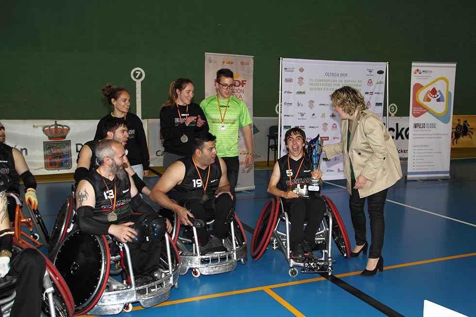 Cataluña gana el campeonato de rugby en silla de ruedas