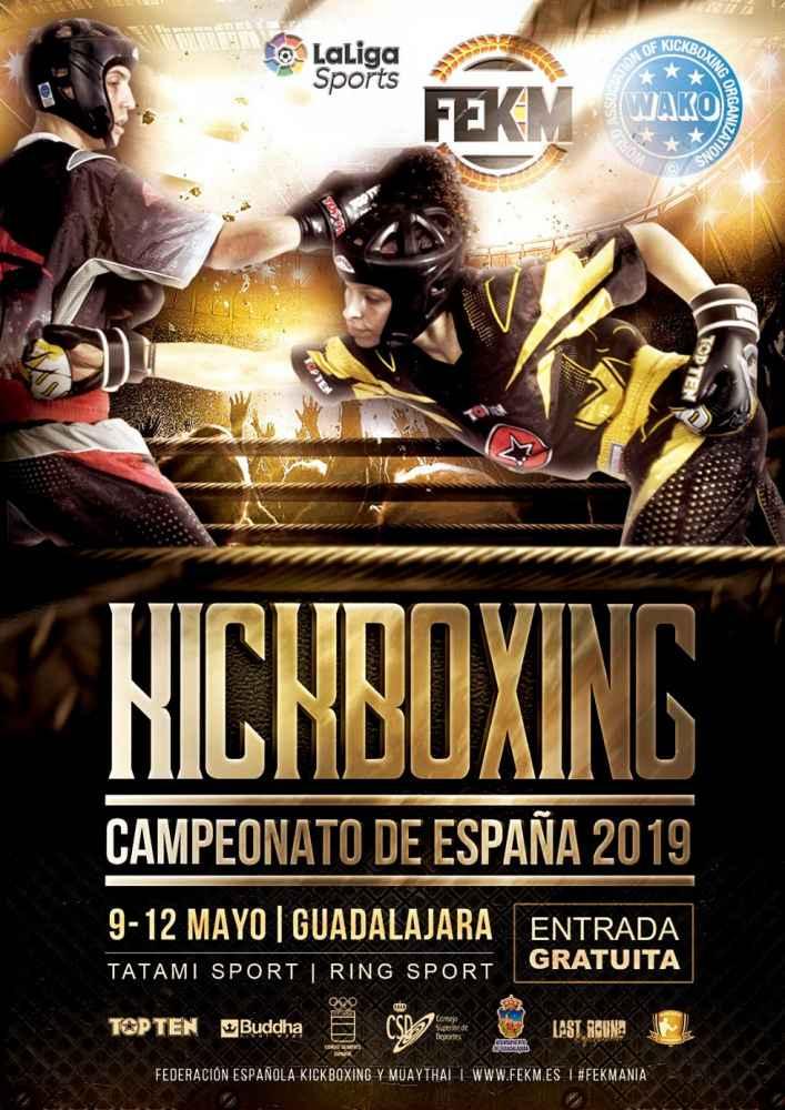 Siete kickboxers sorianos, en el Campeonato de España