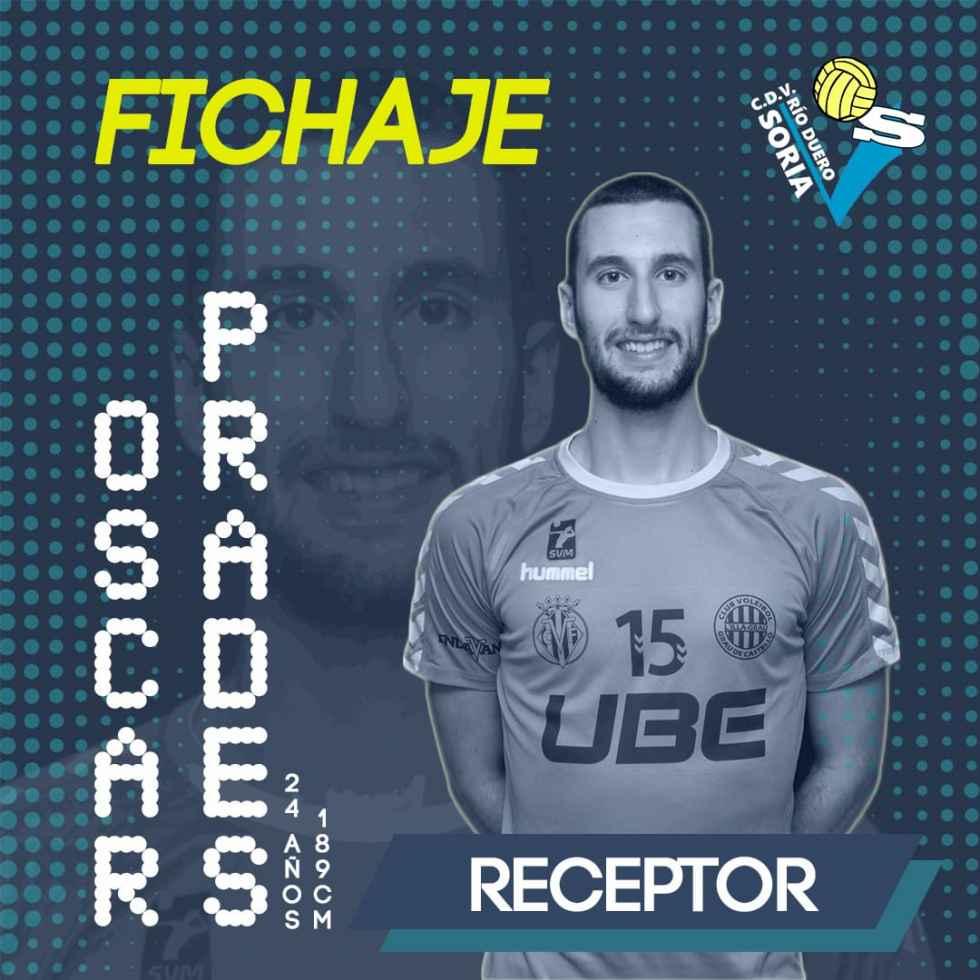 Óscar Predes, primer fichaje para Río Duero 2019-2020