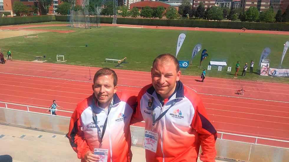 Dos medallas de plata en deporte adaptado del C.D. Impulso Global
