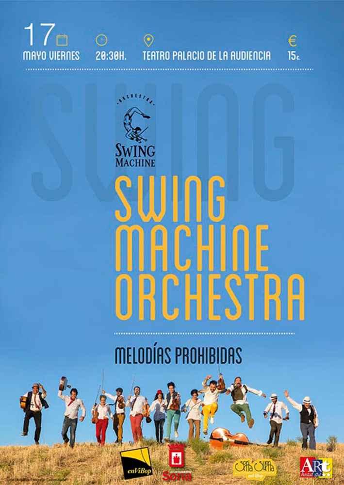 La única orquesta de cuerdas de swing del mundo, en Soria