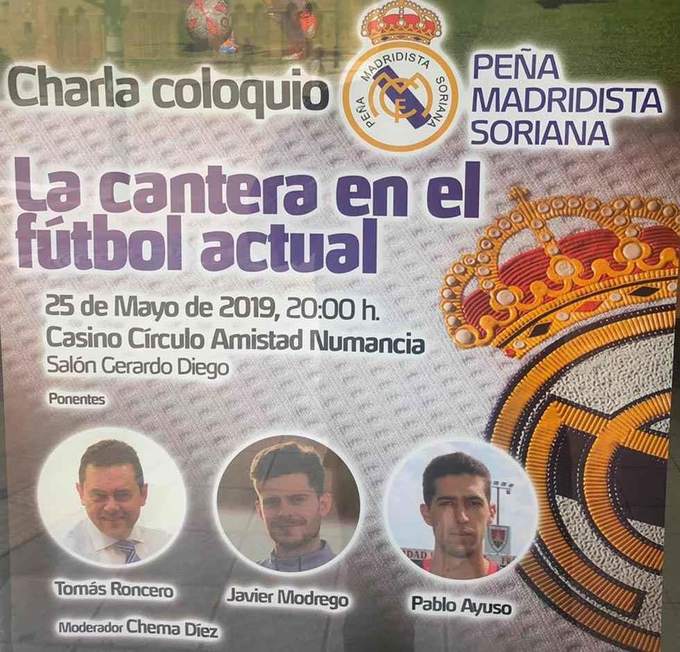 Tomás Roncero habla de la cantera en el fútbol español