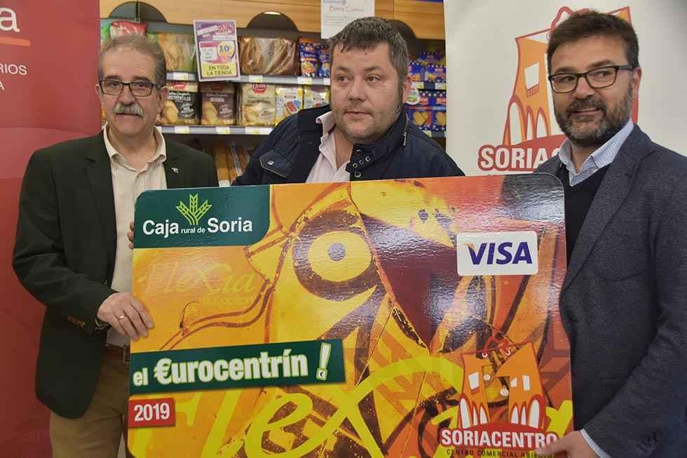 El ganador del Eurocentrín gasta el premio en 20 establecimientos