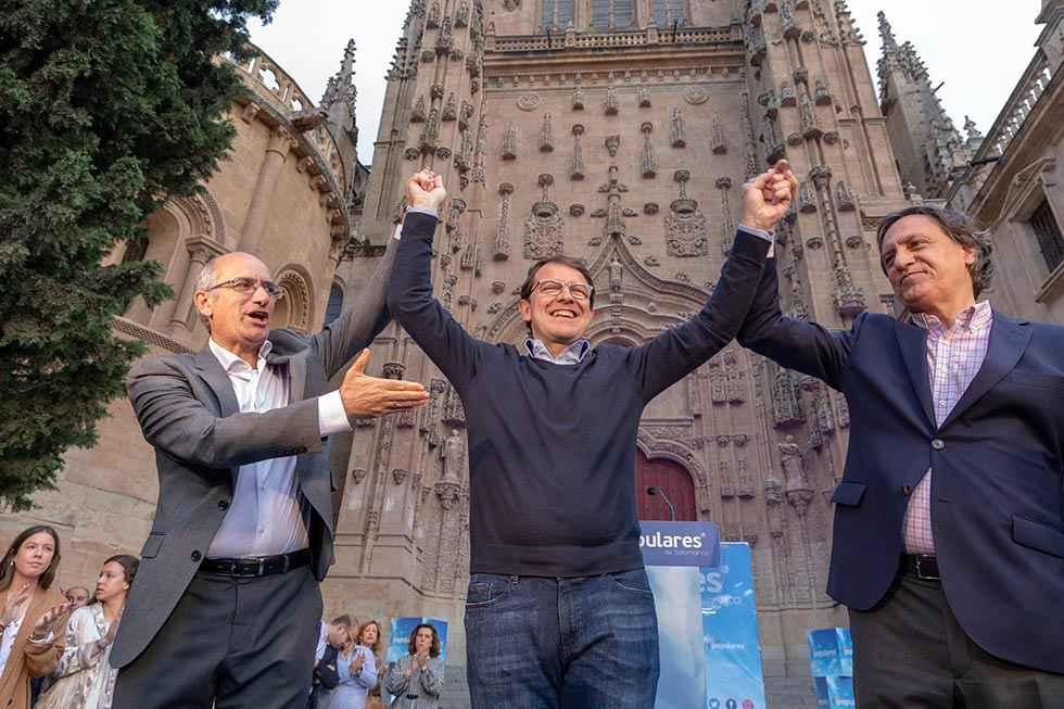 Mitín de Fernández Mañueco en Soria