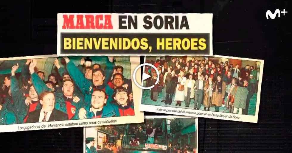 """""""Generación Numancia"""", un reportaje de los héroes de la Copa"""