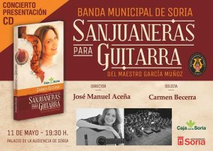 """Presentación del CD """"Sanjuaneras para guitarra"""""""