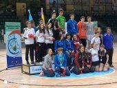 Cuatro medallas del bádminton soriano en Segovia