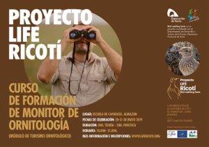 Curso de formación de monitor de ornitología