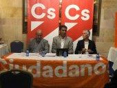 """DeSimón(Cs): """"Vamos a condicionar el futuro gobierno de El Burgo de Osma""""."""