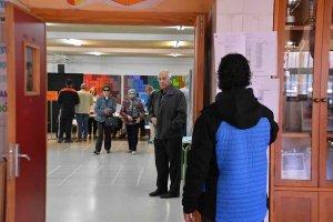 Tres votaciones en una jornada electoral - fotos
